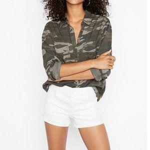 Express Boyfriend Camo Shirt/Convertable Sleeves